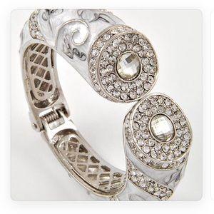 Enamel and Crystal Bracelet